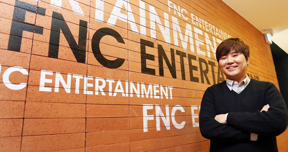 FNC 엔터테인먼트 한성호 대표